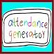 Attendance Generator by OutsideTheBox