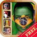 Country Flag Face Paint by Nary Mobile Apps