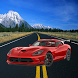 driving speedy car on the road by mbarek saika