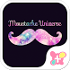 wallpaper-Moustache Universe- by +HOME by Ateam