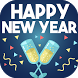 Happy New Year Greeting Cards by Christmas Apps and Games