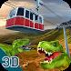 Amazing Dinosaur Park Sky Tram Simulator 3D