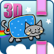 Flappy Rainbow Cat 3D by The Black Cat