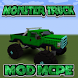 Monster Truck MCPE MOD by WinterXApps