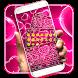 Pink Love Keyboard by Keyboard Tema Designer