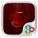 Red apple GO Launcher Theme by ZT.art