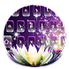 Purple flowers keyboard by Bestheme theme&keyboard studio 2018