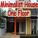 Minimalist House One Floor by wahyu mandiri