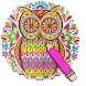 Coloring Book For Adult Free 【Colorify】 by ProApps91