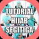 Tutorial Hijab Segitiga Terbaru 2017/2018 by mancapp