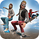 SkateBoard Racing Challenge by Free Wild Simulator Games