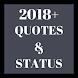 2018+ Quote & Status
