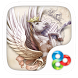 Pegasus GO Launcher Theme by ZT.art