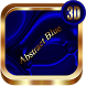 Abstract Blue 3D Next Launcher theme by spikerose