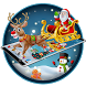 Merry Christmas Santa theme by Launcher Fantasy