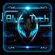 Blue Tech CM Keyboard Theme by Echo Keyboard Theme