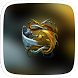 Golden and Silver Dragon Theme by Featuredtheme