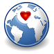 Singles Dating World App by O.A.Smith Designs