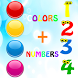Learn colors numbers ad free by qubistudios