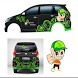 Car Cutting Sticker Design by sipipit