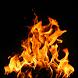 Slow Motion Fire HD Wallpaper