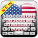 American Flag Keyboard by Jiko Yougabou