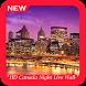 HD Canada Night Live Wallpaper