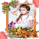 Stylish Girl Photo Frames by Redjelly Apps