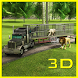 Transport Truck: Wild Animals by Wacky Studios -Parking, Racing & Talking 3D Games