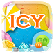 (FREE) GO SMS ICY THEME by ZT.art