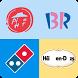 Guess logo restaurant by Vice Versa