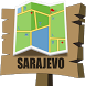 Sarajevo Map by Mappopolis