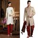 Dulha Shangar - Grooms Dress Shervani Groom Wear by pradhan mantri yojana