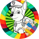 How to color Paw Patrol coloring game for kids by Messi-Pro