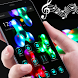 Music Neon Fidget Spinner colorful Theme by Theme Lovely