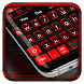 Black Red Keyboard Theme by Super Cool Keyboard Theme