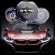 Sport Cars Clock Wallpaper- Speedometer Clock Live by Appspundit Infotech