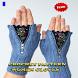 Crochet Pattern Woman Gloves by newerica