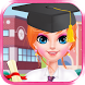 High School Crush For Girl - Princess Makeover by salon games for girls