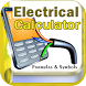 Electrical Calculator with Formulas and Symbols by Hasyim Developer