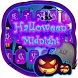Happy Halloween Midnight Keyboard Theme by Kika Free Theme for Android