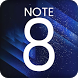 Theme for Samsung Galaxy Note 8 by Smart Themers