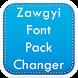 Zawgyi Font Pack Changer