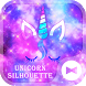 Dreamy Wallpaper Unicorn Silhouette Theme by +HOME by Ateam