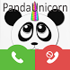 Call Cute Unicorn Panda Prank