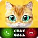 Fake phone call from cat