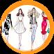 Fashion design sketches by yarislasih