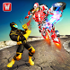 Flying Panther Superhero VS Transform Robot Battle by Warm Milk Productions
