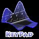 Pitch Black Keypad Layout by Omega Themes