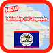 Belize Map and Geography